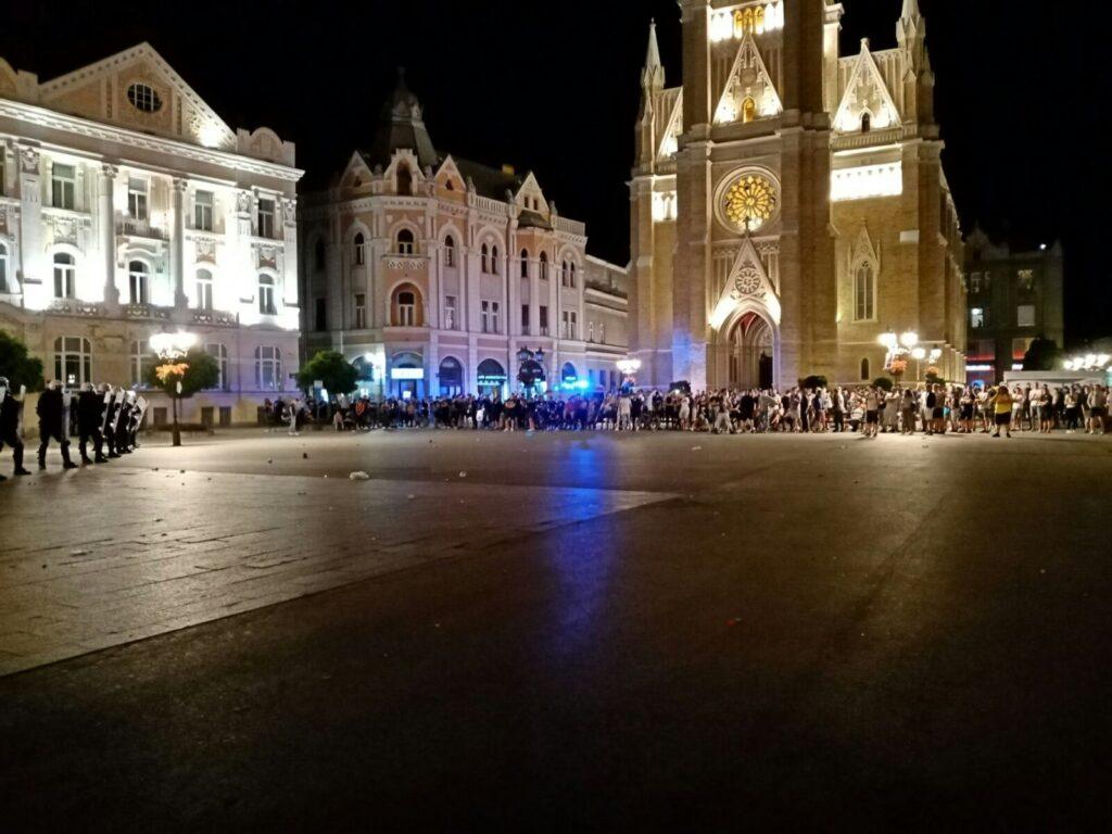 Demonstracije Novi Sad, Foto: Novosadski Info